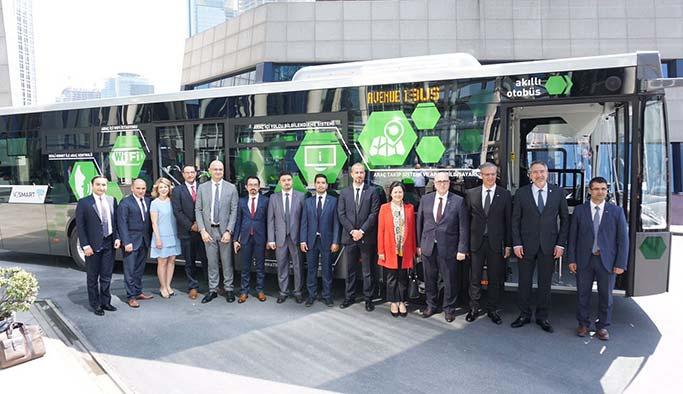 Türkiye'nin yüzde 100 yerli ilk akıllı otobüsü