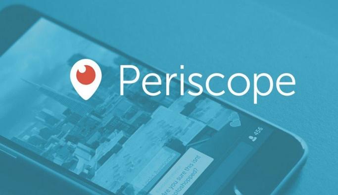 Twitter, Periscope'un Türkiye'deki ismini değiştirdi