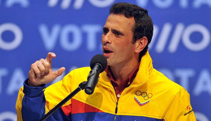 Maduro'nun rakibine 15 yıl siyaset yasağı