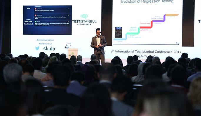 Yazılım testikonferansı İstanbul'da gerçekleşti