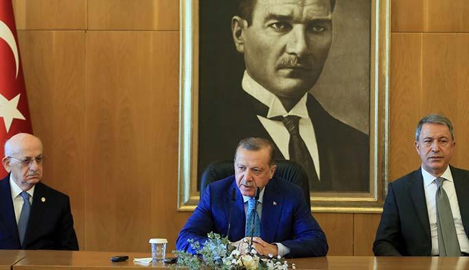 YPG konvoyundaki Amerikalılara Erdoğan'dan sert tepki