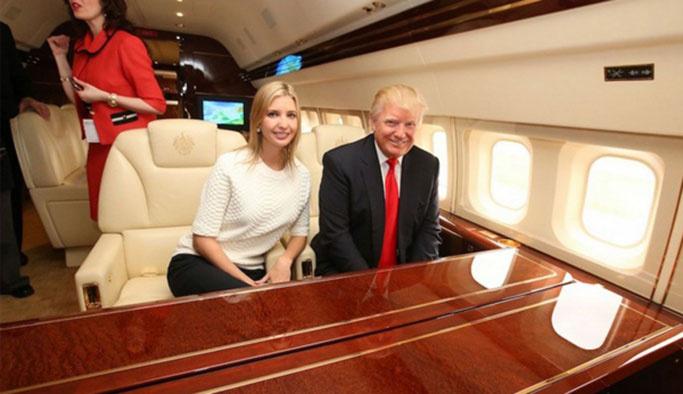 ABD Başkanı Trump, ilk yurt dışı seyahatine çıktı