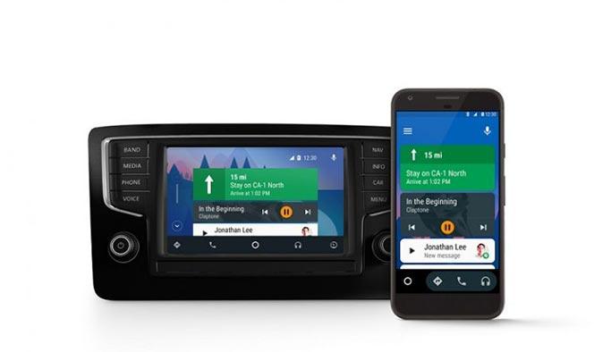 Android son model otomobillere geliyor