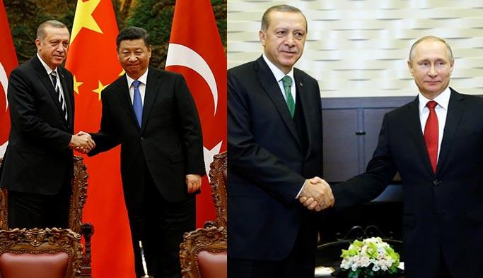 Batı'nın üzdüğü Türkiye, morali Çin ve Rusya ile buldu