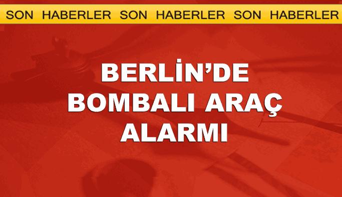 Berlin'de bombalı araç paniği