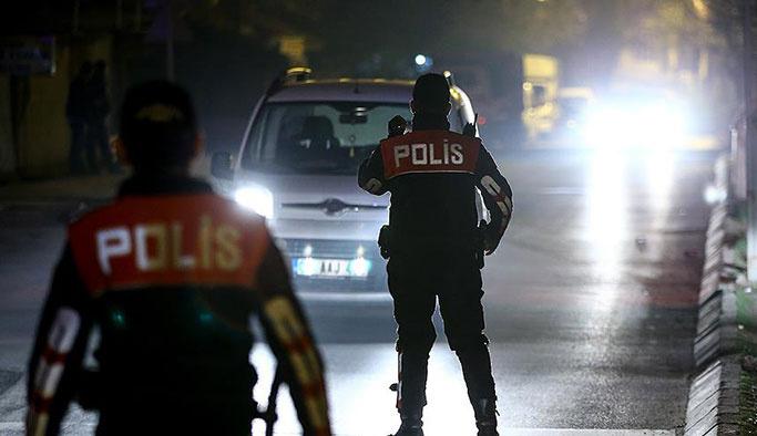Bir gecede bin 485 aranan kişi yakalandı