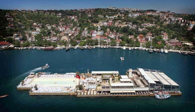 Boğaz'daki Galatasaray adası yıkıldı
