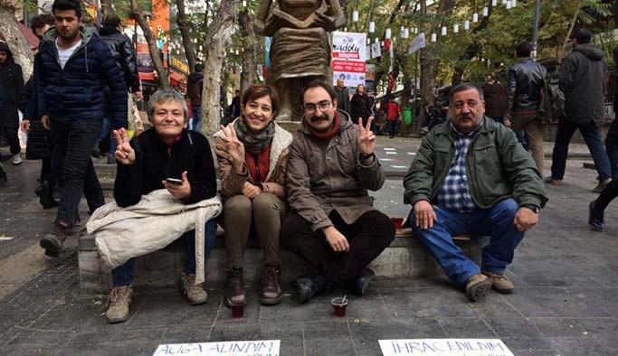 CHP'den tutuklu Gülmen ve Özakça'ya ziyaret