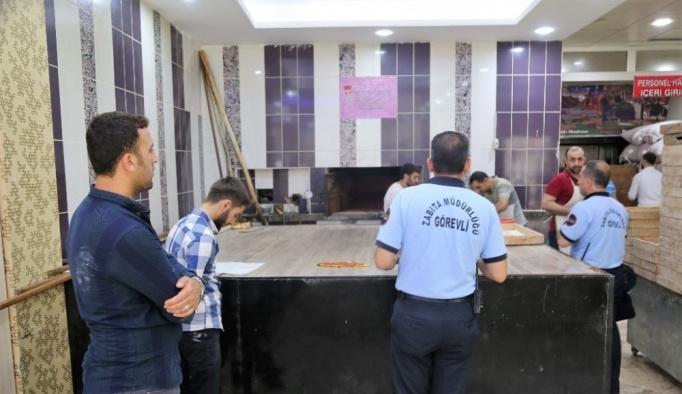 Cizre'de Ramazan öncesi gıda ve hijyenik denetimi
