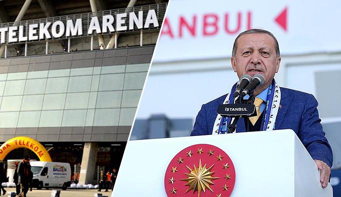 Cumhurbaşkanı Erdoğan 'Arena'lara savaş açtı