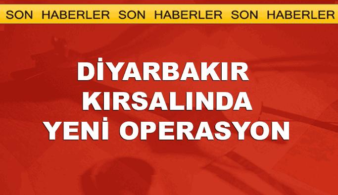 Diyarbakır kırsalında yeni operasyon başladı