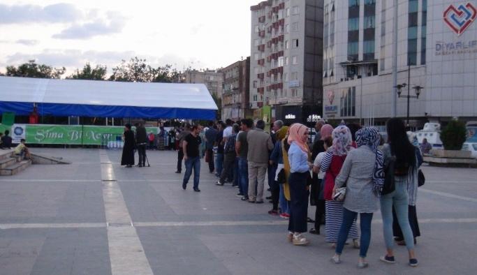 Diyarbakır'da ilk iftar açıldı
