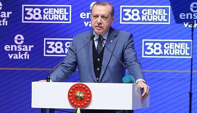 Erdoğan: 15 Temmuz'da çıkanlar Gezi gençliği değildi