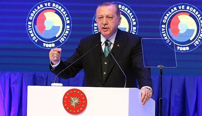 Erdoğan: Faiz bir sömürü aracıdır