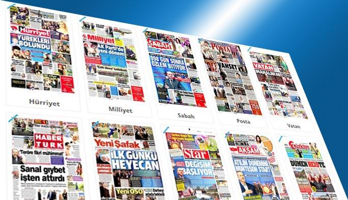 Erdoğan'ın dönüşü manşetlerde - 22 Mayıs 2017