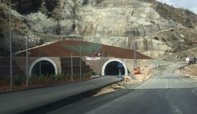 Erkenek Tüneli tamamlandı