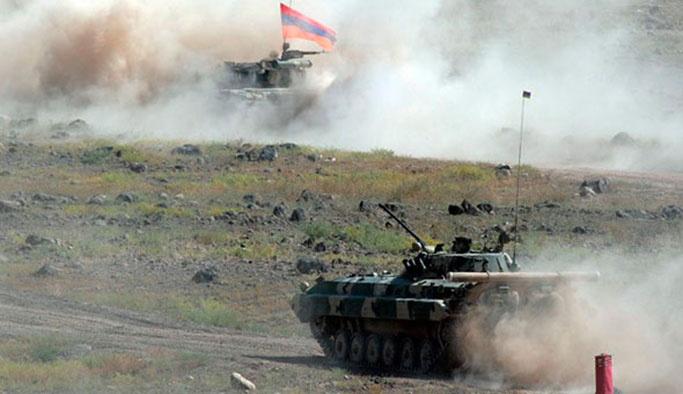 Ermenistan ateş hattı vuruldu