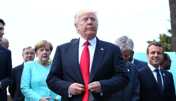 G7 zirvesine Trump anlaşmazlığı damga vurdu