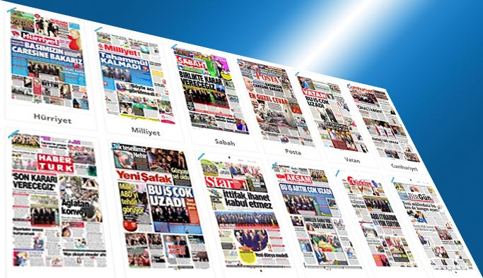Gazete manşetleri - 15 Mayıs 2017