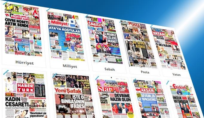 Gazete manşetleri - 20 Mayıs 2017