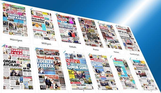 Gazetelerin bugünkü manşetleri - 10 Mayıs 2017