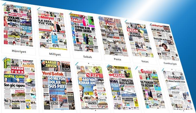 Gazetelerin bugünkü manşetleri - 16 Mayıs 2017