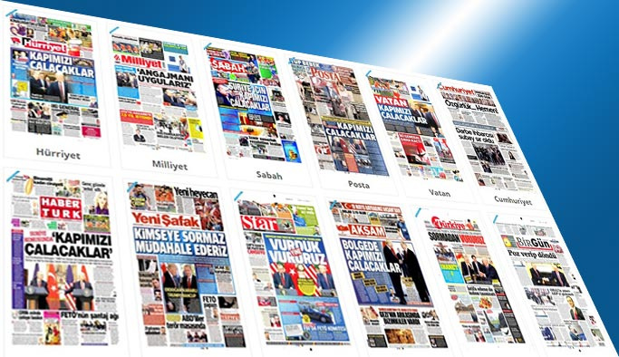 Gazetelerin bugünkü manşetleri - 18 Mayıs 2017