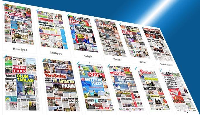 Gazetelerin bugünkü manşetleri - 1 Mayıs 2017