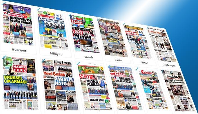 Gazetelerin bugünkü manşetleri - 26 Mayıs 2017