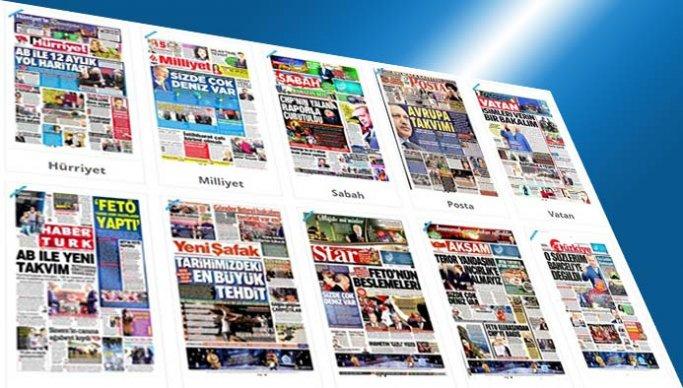 Gazetelerin bugünkü manşetleri - 27 Mayıs 2017