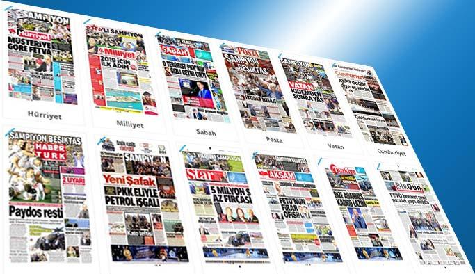 Gazetelerin bugünkü manşetleri - 29 Mayıs 2017