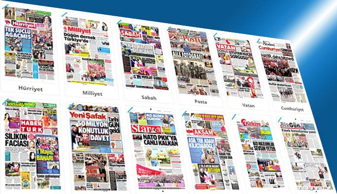 Gazetelerin bugünkü manşetleri - 2 Mayıs 2017
