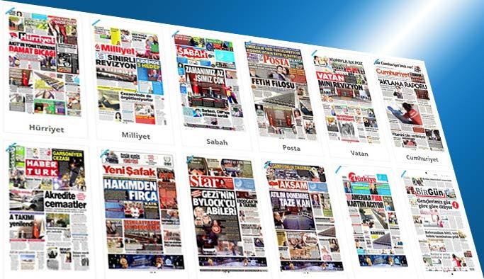 Gazetelerin bugünkü manşetleri 30 Mayıs 2017
