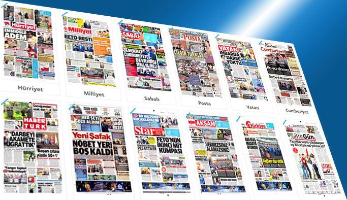 Gazetelerin bugünkü manşetleri 31 Mayıs 2017