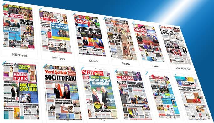 Gazetelerin bugünkü manşetleri - 4 Mayıs 2017