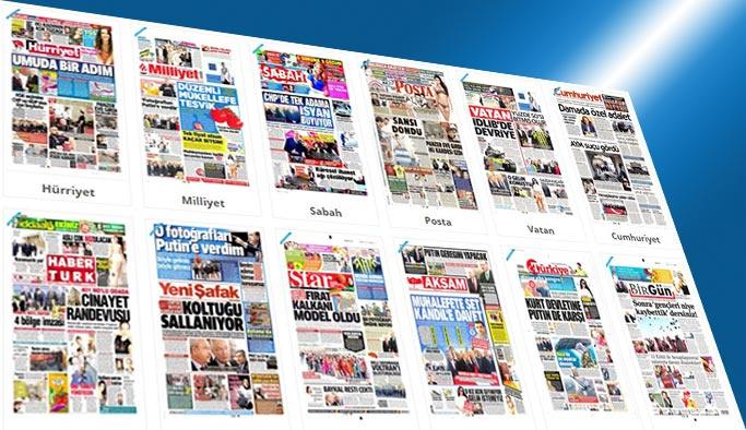 Gazetelerin bugünkü manşetleri - 5 Mayıs 2017