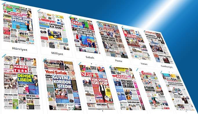 Gazetelerin bugünkü manşetleri - 6 Mayıs 2017