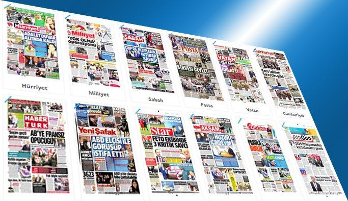 Gazetelerin bugünkü manşetleri - 8 Mayıs 2017
