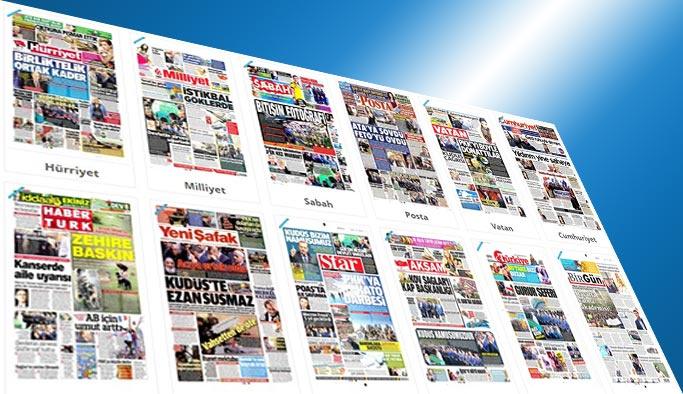 Gazetelerin bugünkü manşetleri - 9 Mayıs 2017