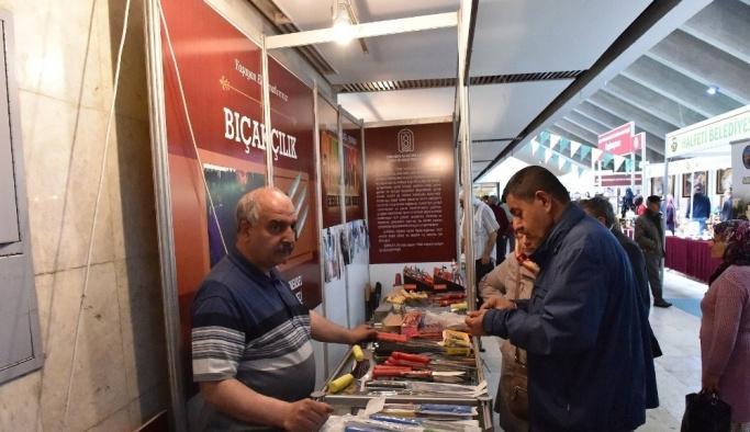Geleneksel el sanatları Ankara'da  büyük beğeni topladı