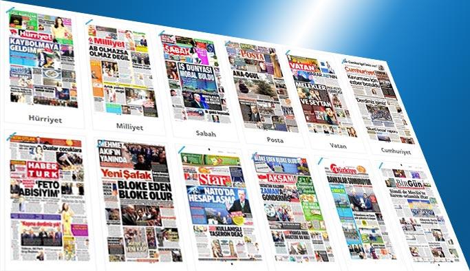 Günün gazete manşetleri - 25 Mayıs 2017