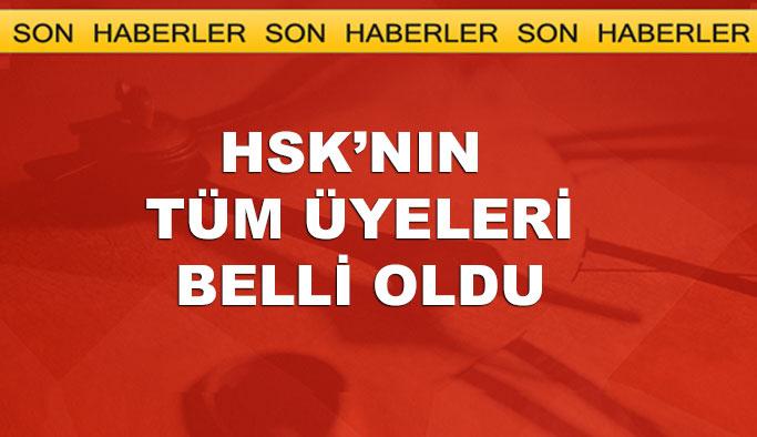HSK'nın Cumhurbaşkanlığı kontenjanından 4 üye atandı