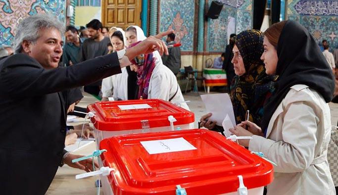 İran'da seçim heyecanı, halk sandık başında
