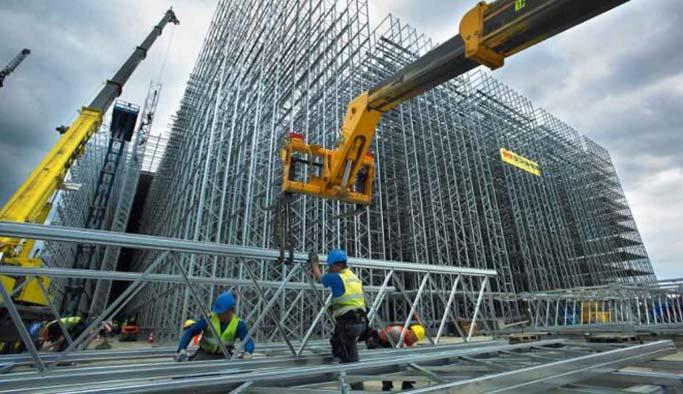İşlerin açıldığı istihdamın arttığı dönemde inşaata 'demir darbesi'