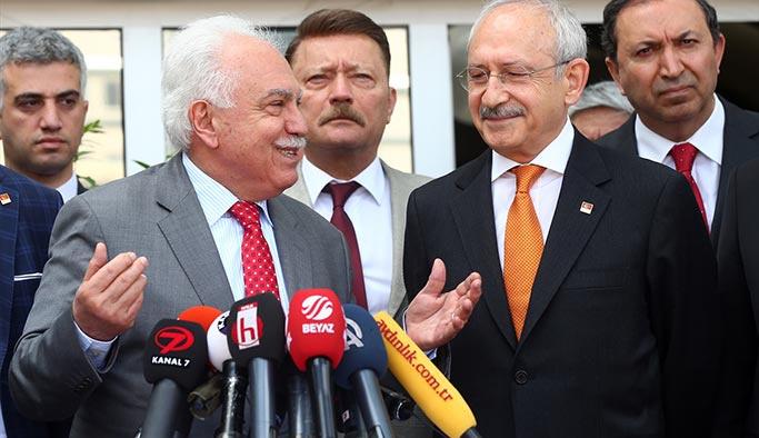 Kılıçdaroğlu'dan Perinçek'e 'çatı aday' ziyareti