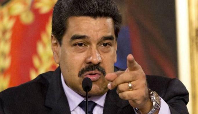 Maduro'dan ABD'ye: O pis ellerini ülkemden çek