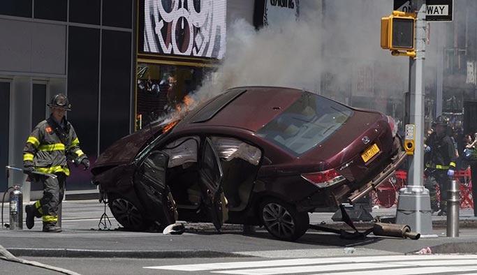New York'taki olaya kaza denilmişti ama görüntüler farklı