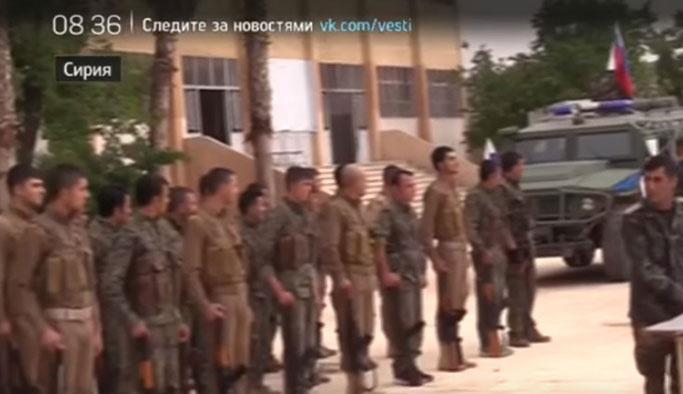 PKK-YPG, Rusya'nın gözetiminde törenle rejime devretti