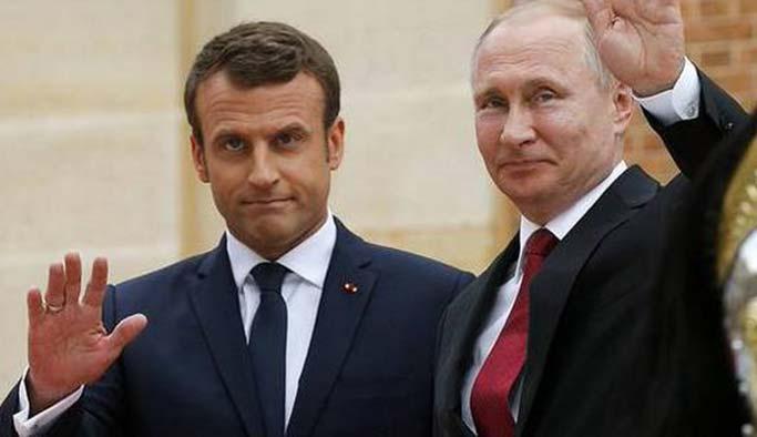 Putin-Macron zirvesinden işbirliği ve uzlaşma çıktı