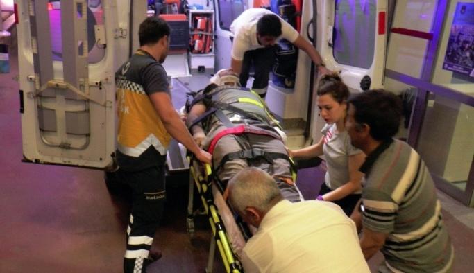 Şanlıurfa'da otomobil motosiklete çarptı: 1 yaralı
